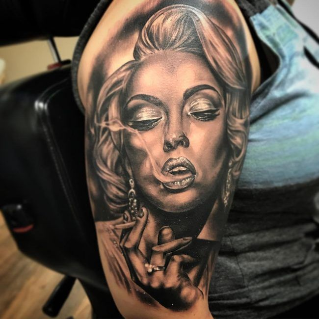 Best 25+ Marilyn Tattoo Ideas On Pinterest