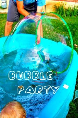 bubble party: Birthday Parties, Talent Terraces, Dawn Soaps, Parties Ideas, 2Nd Birthday, Cups Dawn, Baby Pools, Terraces Girls, Bubbles Parties