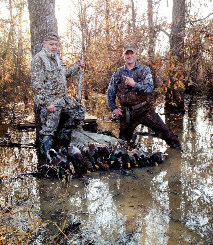 The best hunting is in Stuttgart, Arkansas. Travel