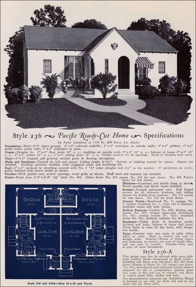 15 best images about historic duplexes on pinterest the for Pacific homes kit homes