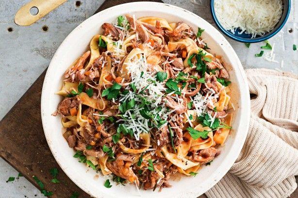 Chicken, pancetta and red wine ragu main image