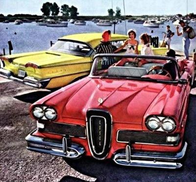 Best Edsel Images On Pinterest Vintage Cars Car Dealerships