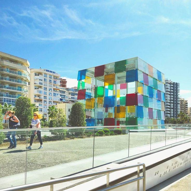 El Cubo  #centrepompidoumalaga #architour #málaga