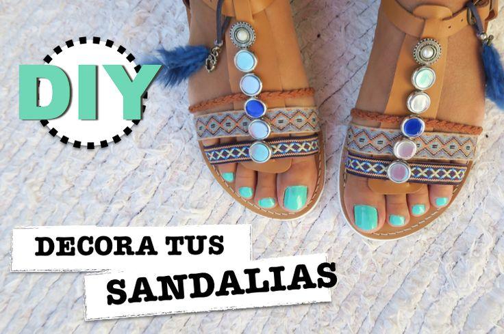 DIY: cómo personalizar tus sandalias | Manualidades
