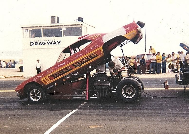 Dunn Reath Rear Engine Funny Car