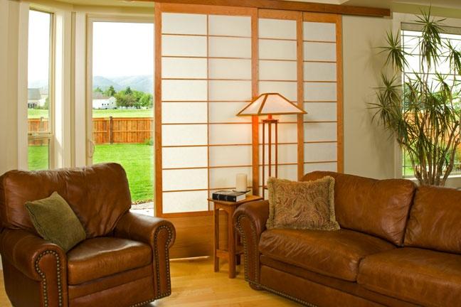 Cherry Tree Design Patio Door Coverings | Sliding Shoji 8