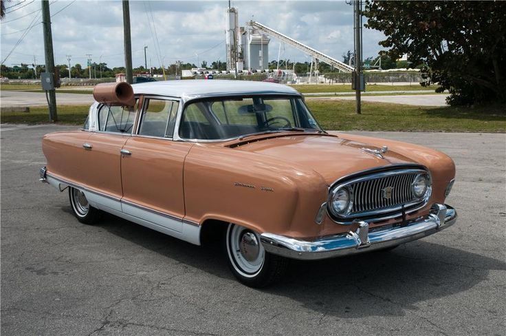 1955 NASH STATESMAN SUPER 4 DOOR SEDAN / With Optional High Efficiency Air Conditioner