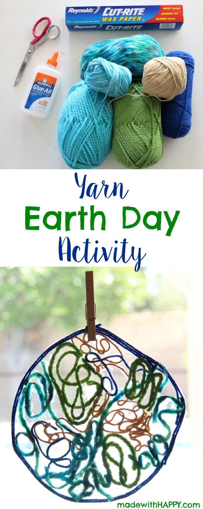 84 best earth day images on pinterest earth day activities yarn earth day activity yarn earth kids activities madewithhappy robcynllc Images