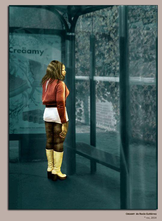 roc: Dialogar con la Mirada: Miradas de Mujer y La voz Creamy Primer Premio I Concurso Nacional Miradas de Mujer. Fotografía Social
