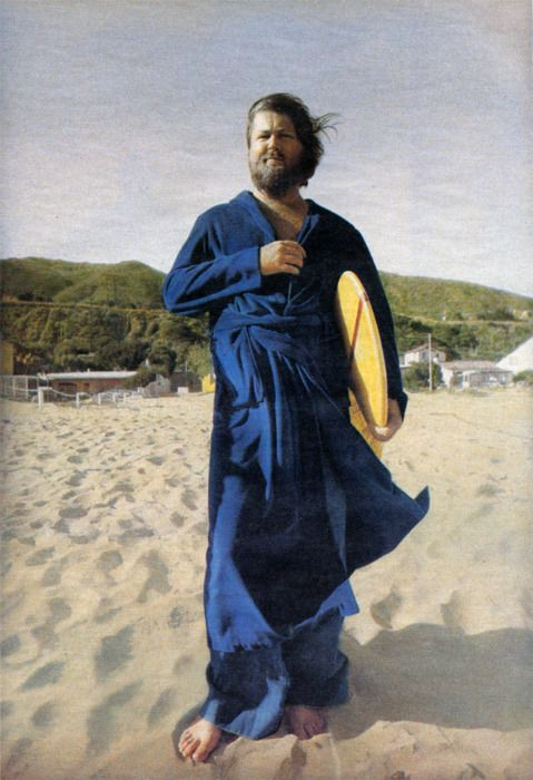 Annie Leibovitz's image of Brian Wilson has been stuck in my mind since I first saw it.