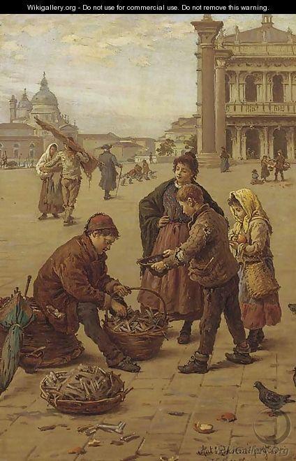 Il venditore di Legna da ardere - Antonio Paoletti