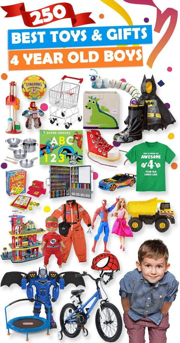 See Over 250 Great Gift Ideas For 4 Year Old Boys