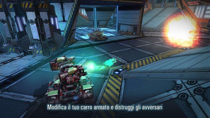 Tanks VS Robots – Scontri PVP tra veicoli da combattimento | Universal App https://www.sapereweb.it/tanks-vs-robots-scontri-pvp-tra-veicoli-da-combattimento-universal-app/        Tanks VS Robots è un nuovo gioco di tipo PVP realizzato da Extreme Developers e disponibile su Windows Phone 8.1, Windows 10, Windows 10 Mobile, Android e iOS Tanks VS Robots Di seguito la descrizione che possiamo leggere sullo Store: Tanks vs Robots rappresenta lo stato dell'arte nei...