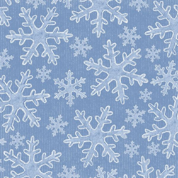 papier met ijskristallen