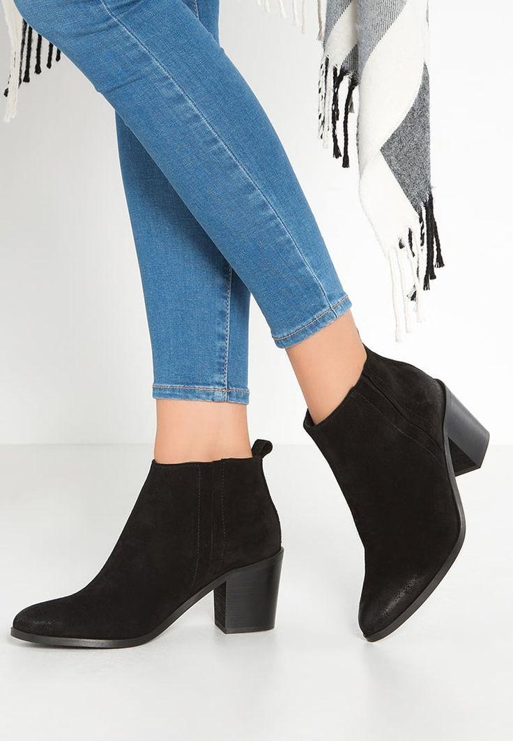 Pieces PSUMIKO - Ankle boot - black - Zalando.pl