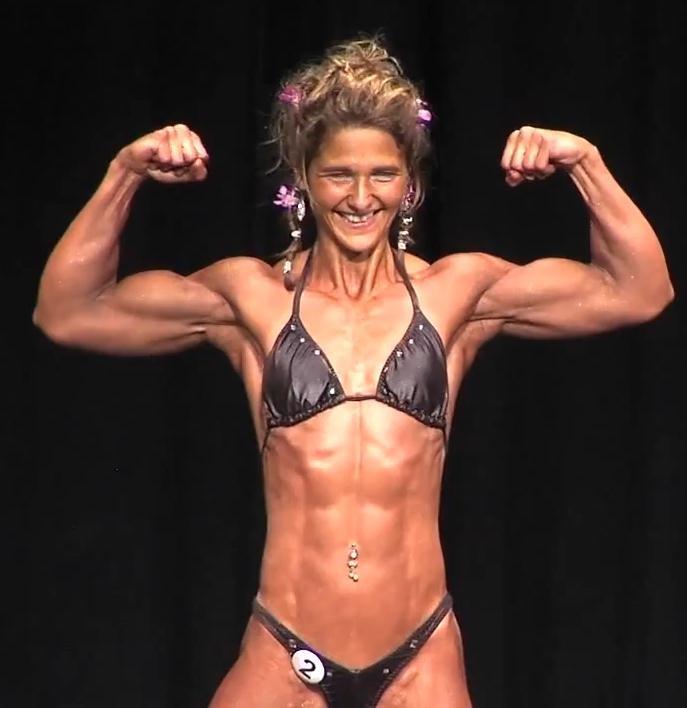 Frauen Bodybuilding Siegerin Jacqueline Kremer   GNBF 2012 ...