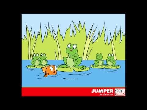 Kinderliedjes Jumper De diersuper - Kinderliedje Wij kikkertjes