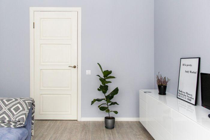 Скандинавская квартира 45 м² в хрущевке для молодой девушки | Минимализм как стиль жизни