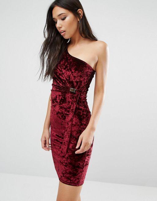 Vestido ajustado asimétrico de terciopelo de Boohoo Vino Mujer Vestidos,tienda boohoo opiniones,en oferta,BOOHOO-Vestidos Distribuidor, BOOHOO-Vestidos España Tiendas, BOOHOO-Vestidos Precios