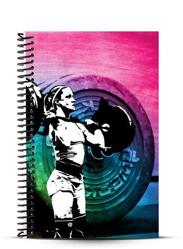 JournalMenu: Workout Journals for Athletes - Girls who Lift, $14.99 (http://www.journalmenu.com/girls-who-lift/)