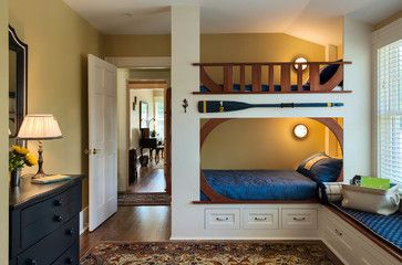 Foreside Cottage - beach-style - Kids - Portland Maine - Wright-Ryan Homes