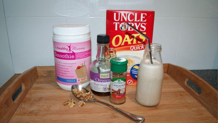 healthy_mummy_smoothie - maple nut