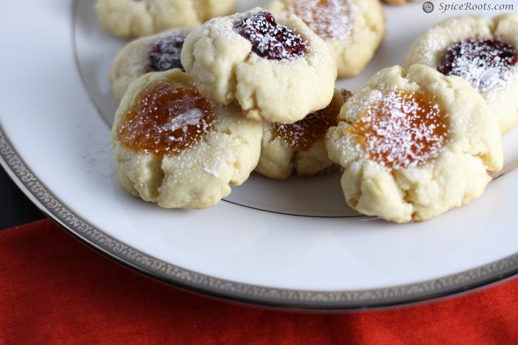 Jam Filled Butter Cookies | Recipe