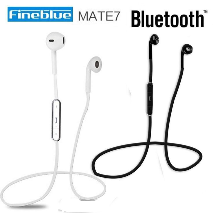 12.91$  Buy here - http://alic13.shopchina.info/go.php?t=32609941294 - Fineblue Mate7 Audifonos Wireless Bluetooth Earphone Stereo Headset Music Auricolare Micro Sport Running Headphone FOR  Phone  #buyonline