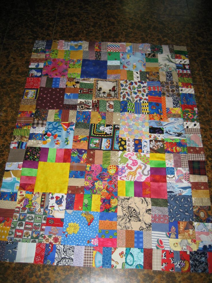 Charity quilt for Linus  2006