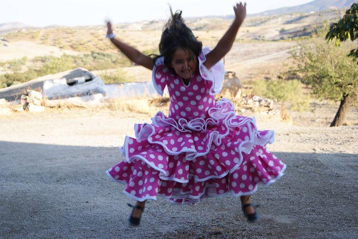 Tutorial: cómo hacer un traje de flamenca de niña (1) | La hilandera - Mercería y Costura