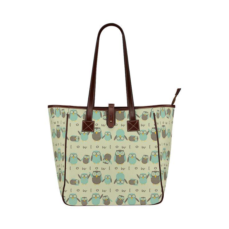 Energetic Owls Custom Tote Bag 13(Two Sides)