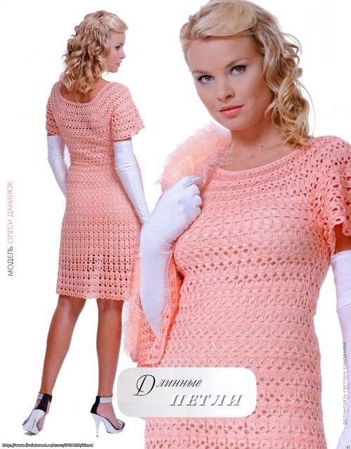 abito di pizzo crochet...вязание крючком кружева платье...crochet lace dress...horgolt csipke ruha