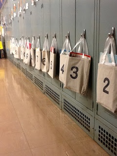 Daily 5 Book Bags instead of boxes