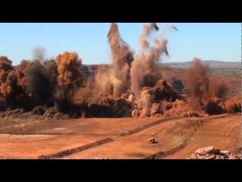 drill and blast mining