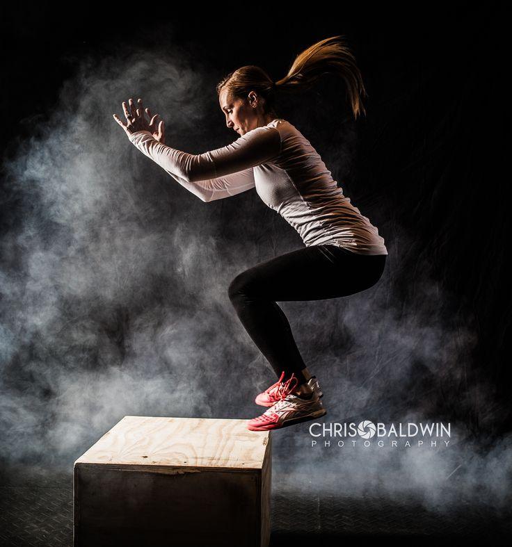 CrossFit Photography box jump