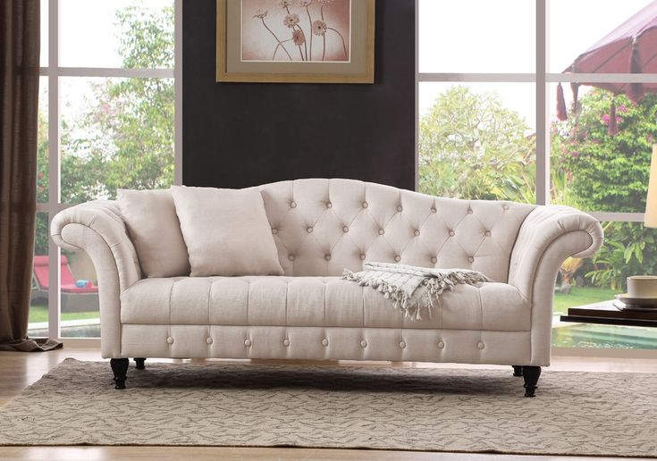 Canapé Chesterfield LILA
