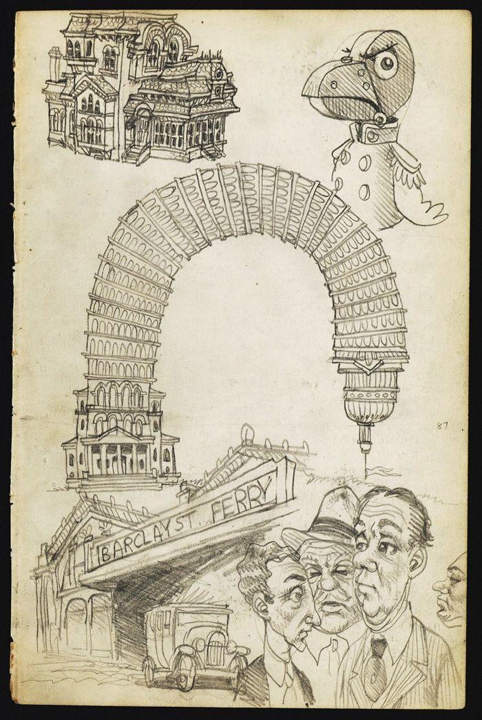 Robert Crumb: sketchbook page 2 Comic Art