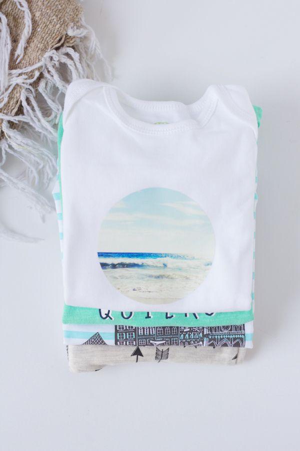 DIY Instagram Transfer T-Shirt & Onesie