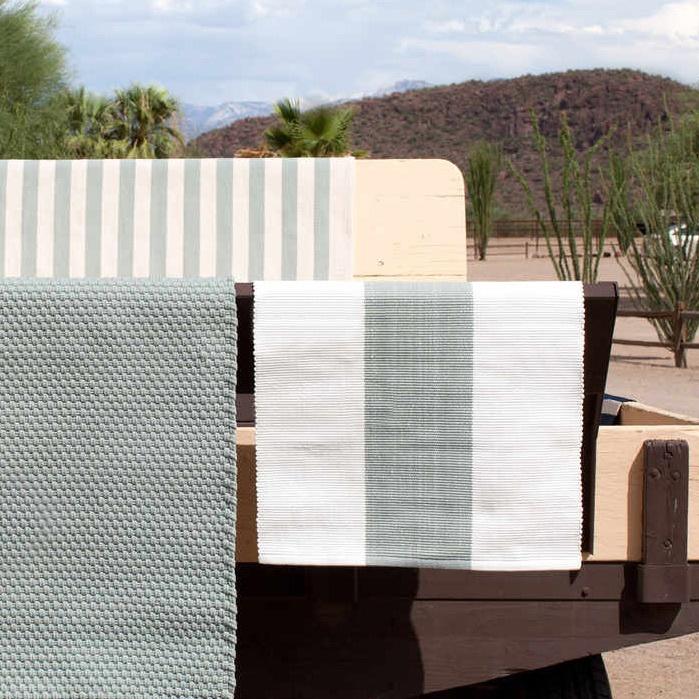 Dash & Albert outdoor striped rug
