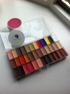 The special Neat Kit #maqpro palette. 32 colours to do any complexion, plus some fx (dirtying down, illness) and period look. £195.  (and the lovely Gelee make-up remover,sold separately )