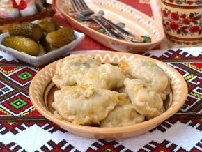 Вареники с картошкой и грибами, рецепт с фото.