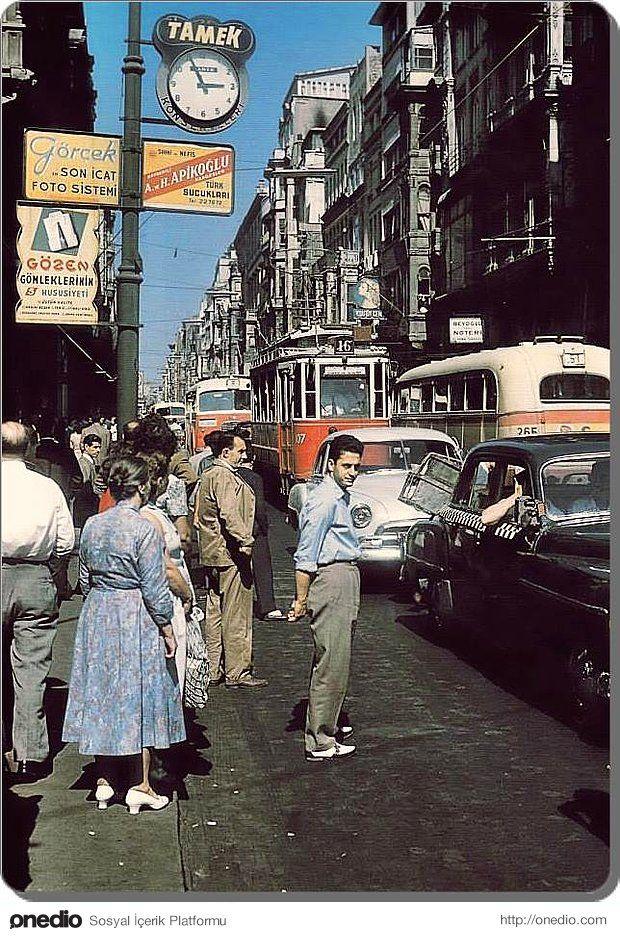 İstanbul, Beyoglu - 1958