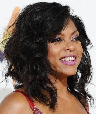 Get The Look: Taraji P. Henson At The U0027Think Like A Man Toou0027 Premiere. Wavy  BobsLong BobsHairstyles ...