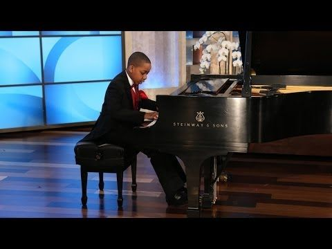 A Big Surprise for a Young Piano Prodigy - YouTube