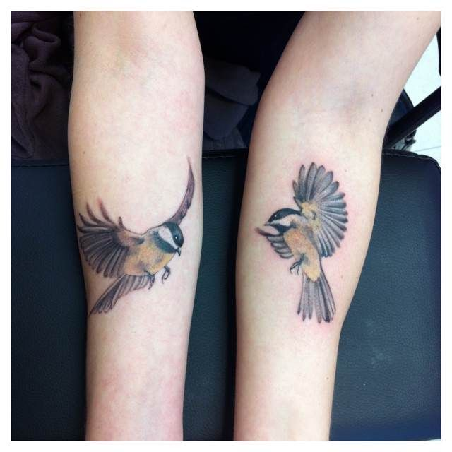 chickadee tattoo - Google zoeken