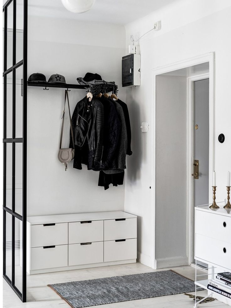 A black, white, and grey home