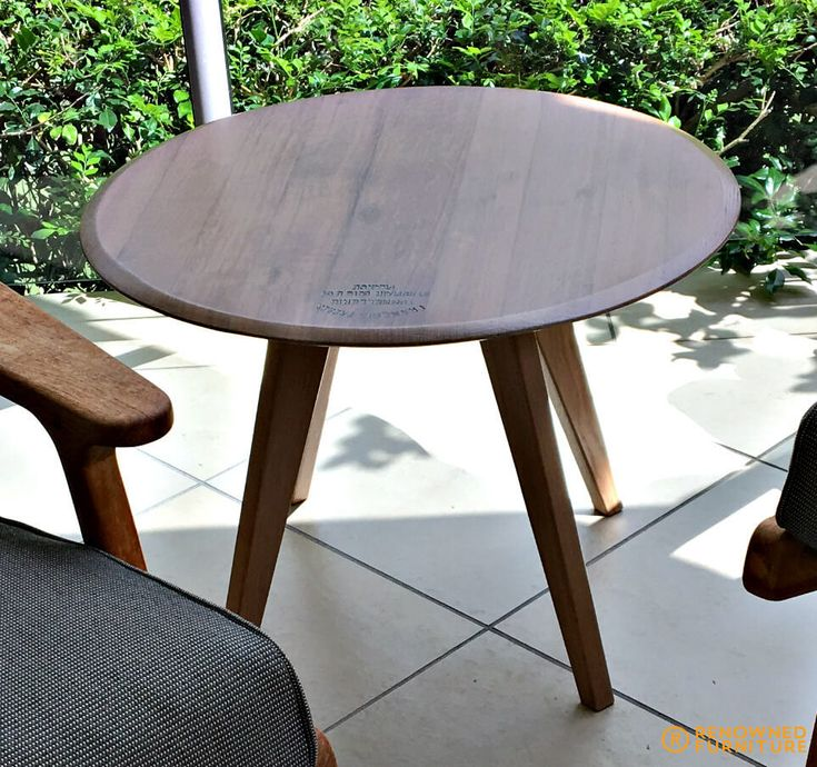 One of our repurposed furniture jobs - a coffee table made from an old Lazy Susan.  http://renownedfurniture.com.au/uncategorized/from-lazy-susan-to-coffee-table/  #repurposedfurniture #coffeetable #lazysusan #upcycle #upcycling #furniture