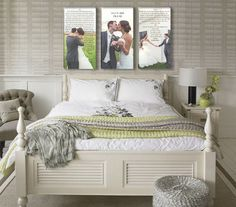 displaying wedding photos at home - Google Search                                                                                                                                                                                 More