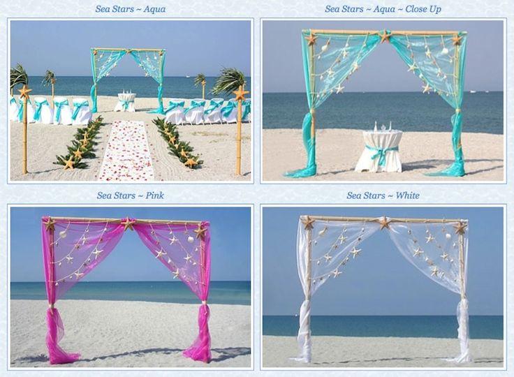 Sea Stars Starfish Beach Wedding Package