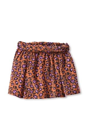 70% OFF Millions Of Colors Girl's Leopard Circle Skirt (Nutmeg)